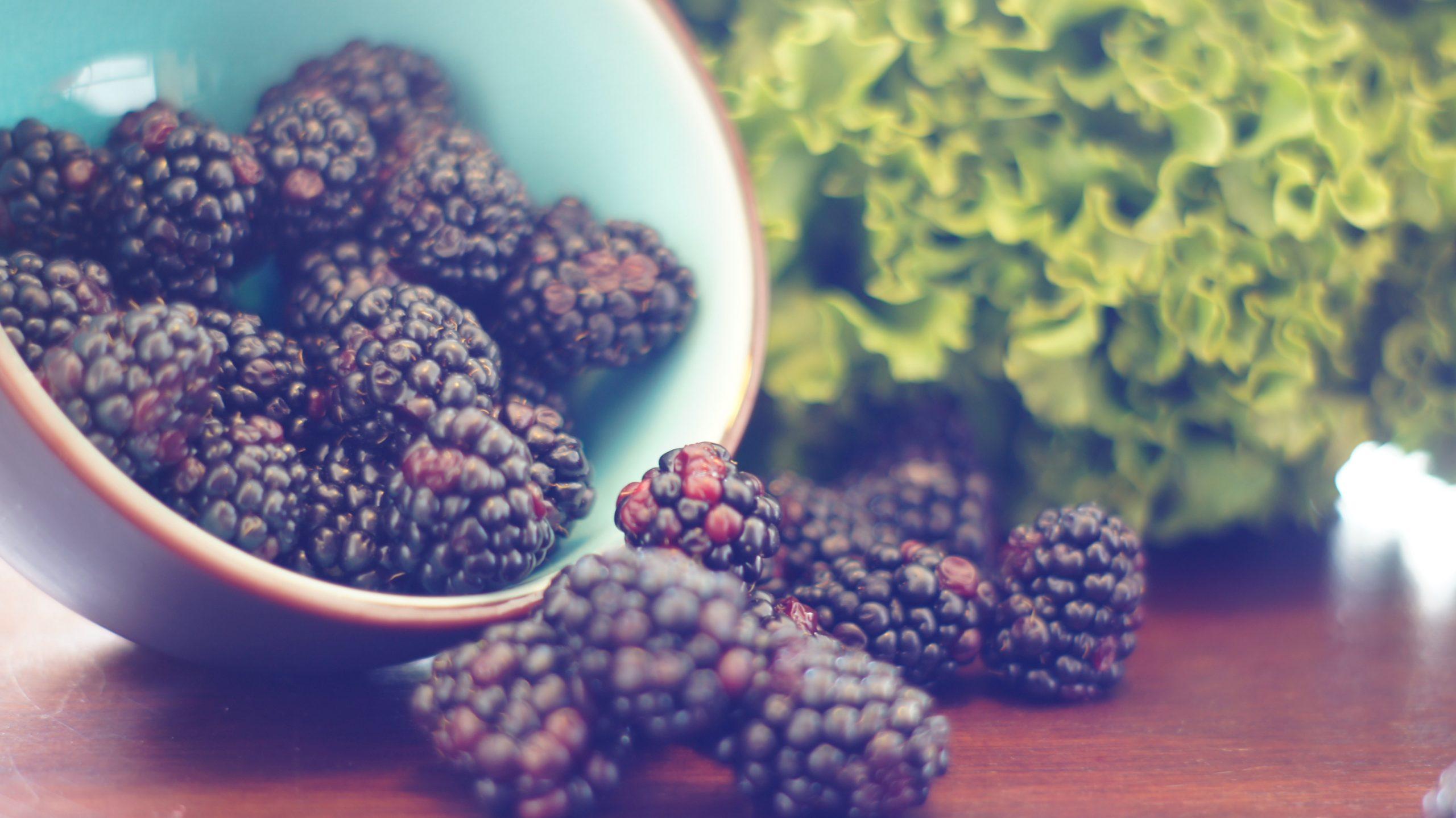 7 Benefits Of Eating Blackberries